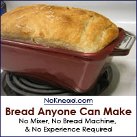 No-Knead Bread anyone can make