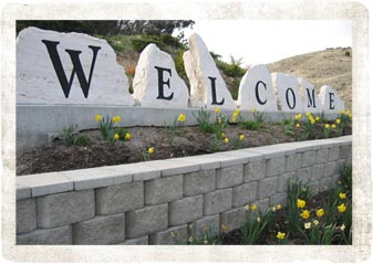 Pocatello, Idaho welcome sign